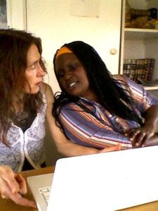 with Priscilla