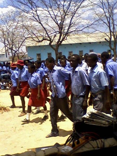 Tyunga pupils, Binga Zimbabwe