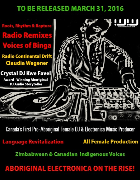 Announcement of DJ Kwe's forthcoming Album dedicated to Voices of Binga