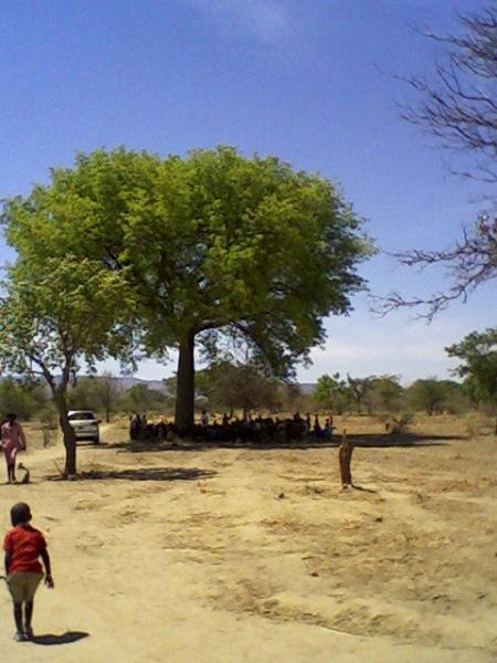 Award ceremony at Damba Primary School 2012