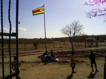 Zim flag Tyunga School