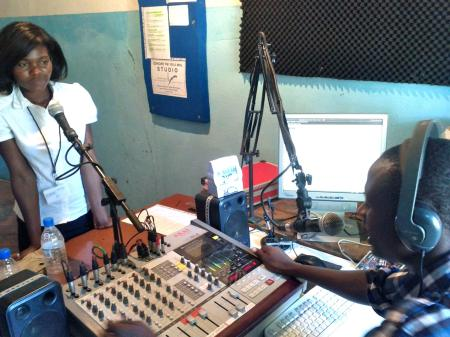Zongwe FM in Sinazongwe Zambia - photo M.C.Diess