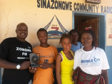 Sinazongwe Community Radio Women's Exchange Visit
